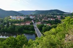 Most přesBerounku - pohled odVelké Bukové