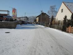 Zima vRoztokách, Stavebniny - leden 2016, autor Ing.Lenka Peterková